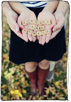 engagement picture idea!