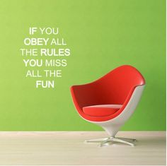 I want fun!