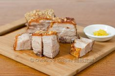 Crispy Roast Pork.
