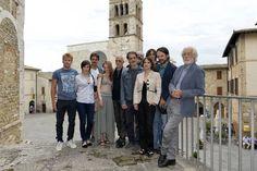 """Luca Ronconi - con i suoi attori - di """"Pornografia"""" © Andrea Kim Mariani"""