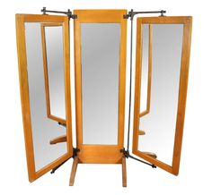 Full Length Three way Rolling Mirror   Third, Closet doors and Dorm