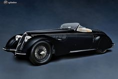 The Car: Alfa Romeo 8C 2900B Lungo Touring Spyder, #412027, 1938  12cylinders