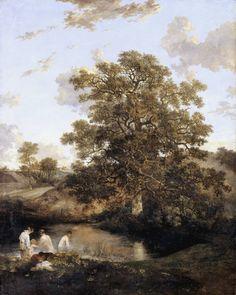 John Crome (1768‑1821) The Poringland Oak c.1818-20 Oil paint on canvas Tate Collection