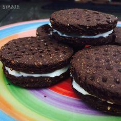 Oreo aż krzyczą o ich zdrową wersję, a moja to tak naprawdę czekoladowa owsianka w ciasteczku ;-) Są...