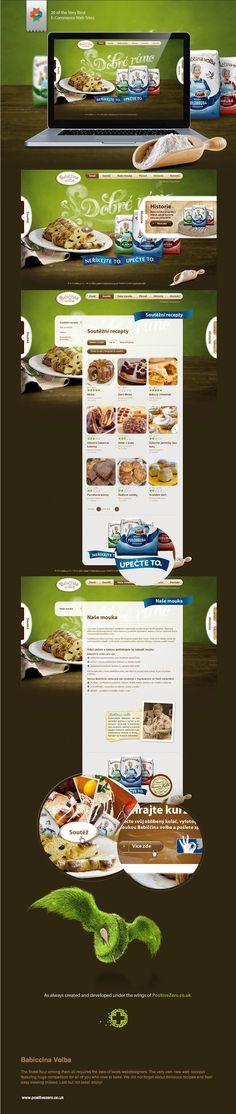 Babiccina Volba - Web Design, Web Development - http://www.behance.net/gallery/Babiccina-Volba/5982673