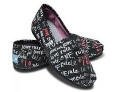 TOMS - Women's Let Love Rule Shoe  #MountainHighOutfitters #Toms