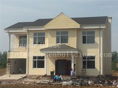 Light offers quality, cost efficiency and speed of erection for low-rise residential and non-residential buildings.Light steel frame building is more and more popular in project. Prefab, Second Floor, Steel Frame, Buildings, Villa, China, Flooring, Popular, Outdoor Decor