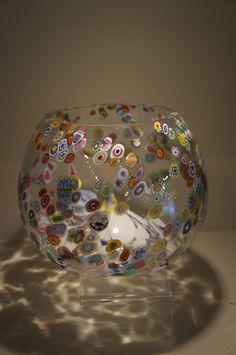 Murano Millefiori Glass Vase                                                                                                                                                                                 More