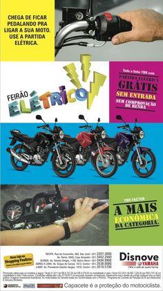Anúncio Feirão Elétrico Agência: 3Pontos Comunicação Cliente:Disnove Yamaha Campanha: Varejo Título: Feirão Elétrico Peça: Anúncio de jornal