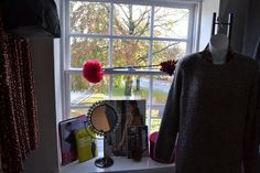 The views from the LBD windows whilst trying on......