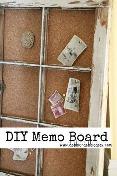 Best Small Wood Projects To Sell Old Windows 45 Ideas Wood Projects That Sell, Small Wood Projects, Diy Projects, Model Architecture, Diy Memo Board, Bulletin Board, Brighten Room, Old Windows, Antique Windows