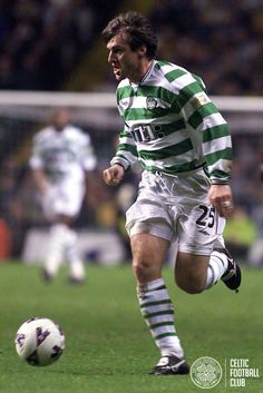 Lubo Moravcik in action during Season 2001/02