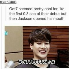 jackson is so loud i love it
