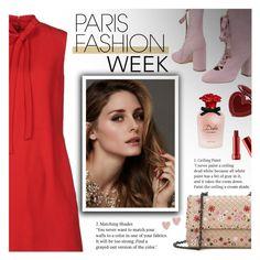 """Pack and Go: Paris Fashion Week"" by beautifulplace ❤ liked on Polyvore featuring Bottega Veneta, George J. Love, Valentino, Beauty Secrets, Dolce&Gabbana and StyleNanda"