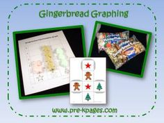 Lots of activities for Gingerbread man theme :)