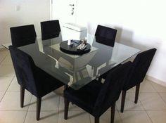 mesas de jantar 8 lugares quadradas - Pesquisa Google