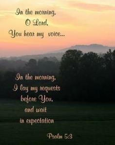 Good Morning Lord ~