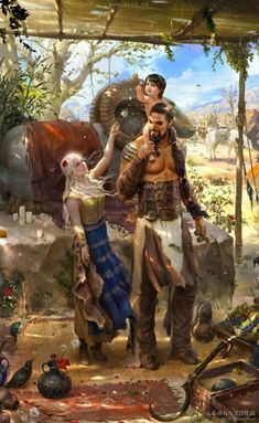 Anyone missing Game of Thrones? Fan Art of Game of Thrones Dream by freedom XI Dessin Game Of Thrones, Arte Game Of Thrones, Game Of Thrones Artwork, Game Of Thrones Fans, Hound Game Of Thrones, Fantasy Kunst, Fantasy Art, Medieval Combat, Character Inspiration