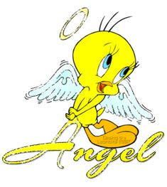 """Free Clip Art Tweety Bird glitter 