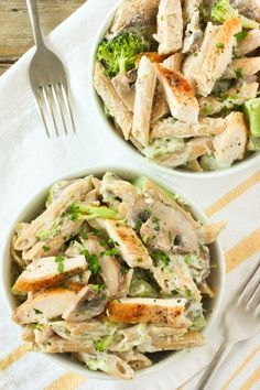 Recipe: Chicken and Broccoli Penne Pasta — Weeknight Dinner Recipes from The Kitchn | The Kitchn
