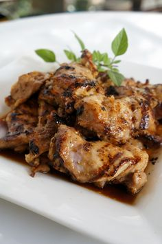KOTOPOYLO ME Μέλι και Τζίτζερ Greek Beauty, Home Food, Greek Recipes, Pork, Tasty, Healthy Recipes, Drink, Meat, Chicken