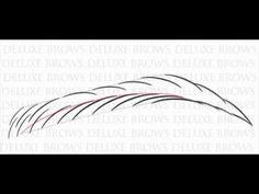 Risultati immagini per eyebrows hair pattern Hair Stroke Eyebrows, Eyebrows On Fleek, Smokey Eye Makeup Tutorial, Eyebrow Tutorial, Thick Eyebrow Shapes, Eyebrow Styles, Eyelash Enhancer, Hair Patterns, Waterproof Eyebrow