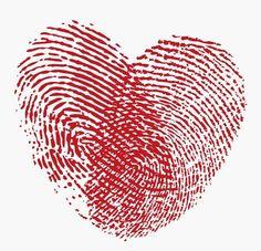 Thumb Print Heart