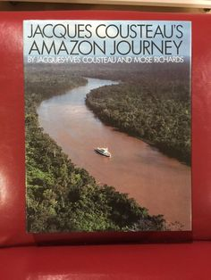 Jacques Cousteau's Amazon Journey SIGNED First Edition
