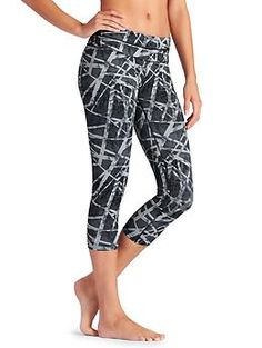 Will definitely need to wait until they're on sale, but they look amazing! Floral Geo Sonar Capri - The floral-ized version of our super sleek, wicking Velocitek® capri with a beyond-flattering fit for your every run and training session. Workout Gear, Workout Pants, Workout Outfits, Workouts, Yoga Capris, Yoga Pants, Belly Dance Costumes, Yoga Tops, Sportswear