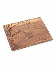 Walnut Personalized Cutting Board by Morgann Hill Designs #zulily #zulilyfinds