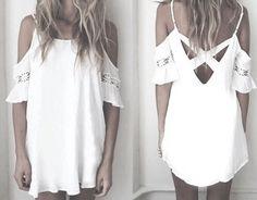 Pinterest ----> //DarkFrozenOcean\\     #tumblr #white #light #cloths #whiteeverything #clothing #clean #style #cloths #dress #shirt #dresses #pants