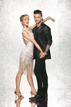 Dancing With The Stars Sept 18, 2017 - Lindsey Stirling and Mark Ballas