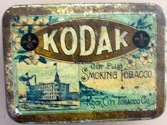 Kodak tobacco tin