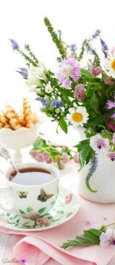 spring tea ~ Debbie ❤