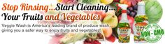 Veggie Wash All Natural Fruit and Vegetable Wash