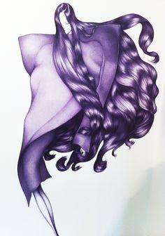 Laura Laine -  Courtesy of the artist #fashionillustration #illustration
