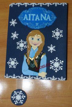 Funda cuaderno Anna - Frozen