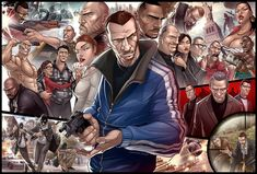 Grand Theft Auto IV TRIBUTE by PatrickBrown on DeviantArt