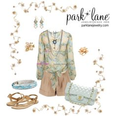 """Garden Party Twist"" by parklanejewelry on Polyvore"