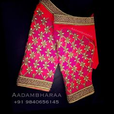 Hi guys if your looking for bridal blouses. They are amazing at designing bridal wear blouses. There work is so neat and beautiful… Cutwork Blouse Designs, Kids Blouse Designs, Wedding Saree Blouse Designs, Hand Work Blouse Design, Stylish Blouse Design, Blouse Neck Designs, Hand Designs, Sumo, Amazing