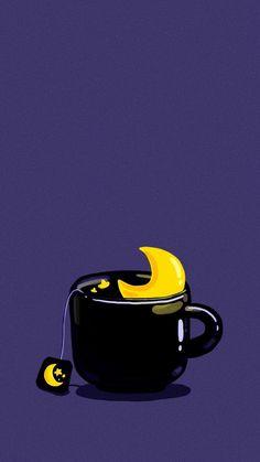 Wallpaper Doodle, Pastel Wallpaper, Kawaii Wallpaper, Galaxy Wallpaper, Cartoon Wallpaper, Wallpaper Backgrounds, Iphone Wallpaper, Tea Wallpaper, Walpapers Cute