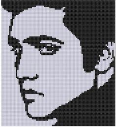 Elvis 2 Cross Stitch Pattern | Craftsy
