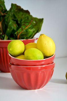 IB Laursen Geschirr und Zitronen
