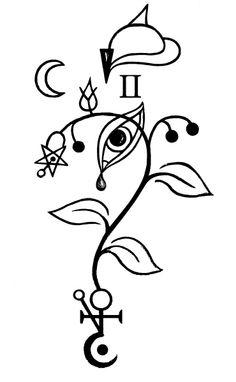 Botanical alchemy Sigils: Belladona