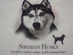 HUSKY SIBERIAN  HS HR DEF   HANDMADE DOG FABRIC THROW PILLOW APPROX 14X14