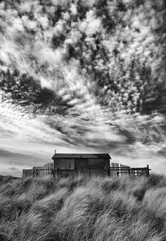 The Wardens Hut - Beadnell NorthumberLand by Stephen Hodgetts | Artfinder