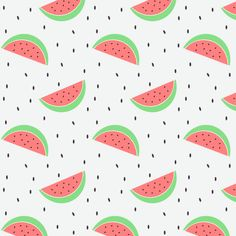 Watermelon pattern.                                                                                                                                                                                 More