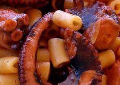 κύρια φωτογραφία συνταγής Χταπόδι με κοφτό μακαρονάκι. Μακράν το καλύτερο που έχω φάει