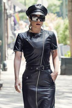 ff45288d2031 Lady Gaga heading to a studio Lady Gaga Fashion