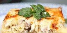 Humm Minuto: Macarrão gratinado é bom. Com dois queijos, melhor ainda! - UOL Estilo de vida